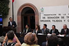 Presentacin de iniciativa en materia de transplantes (Horizonte Comunicacin) Tags: salud quertaro donacin rganos transplantes enriquecorrea lviilegislatura
