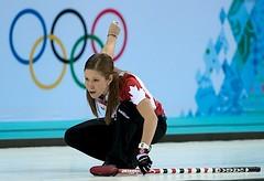 Sochi Ru.Feb19-2014.Winter Olympic Games.Team Canada third Kaitlyn Lawes.WCF/michael burns photo (seasonofchampions) Tags: jones russia jennifer canadian olympics curling sochi semifinal captionthis sochi2014 kaitlynlawes