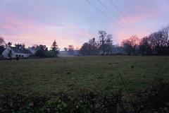 full on sunset now