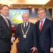 Stephen McNally, Mayor of Trim and Tim Fenn