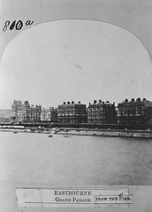 E01360 Grand Parade (East Sussex Libraries Historical Photos) Tags: seaside victorian eastbourne leisure bathing seafront 1860s eastsussex 1870s grandparade