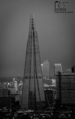 The Shard (Hollisterphotography) Tags: bw black london cities shard select hollister