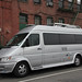 Dodge van-based mobile home
