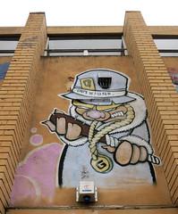 Fitzroy Mural by Drew Funk (wiredforlego) Tags: streetart graffiti mural au fitzroy australia melbourne mel urbanart drewfunk