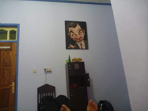 My room at the Hotel Happy Happy in Bajawa