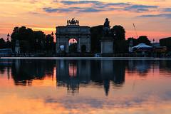 Arc de triomphe du Carrousel Paris (Zatar) Tags: paris de louvre arc triomphe jardin du muse tuileries carrousel
