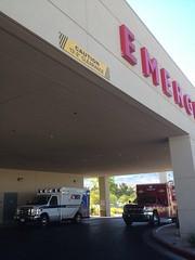 Summerlin Hospital ambulance bay (mercysoup) Tags: rescue hospital nevada 911 medical nurse emergency ems emt rn 999 clarkcounty paramedc
