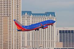 Southwest Airlines Boeing 737-700 N232WN (jbp274) Tags: las southwest airport airplanes boeing klas mccarran 737 wn