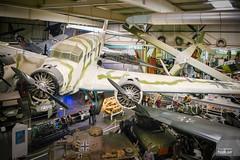CASA-352L painted as Luftwaffe Ju 52/3m RJ+NP (hjakse) Tags: museum germany deutschland tyskland luftwaffe badenwrttemberg sinsheim ju523m junkersju523m casa352 rjnp