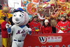 Mr Met exchanges Chinese New Year greetings, Flushing, Queens