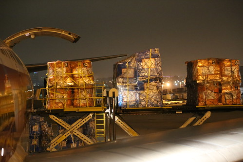 Ebola Facility Modules, Direct Relief, Airlift, LAX 102