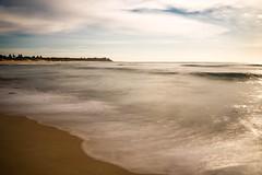 Distant point (.Stephen..Brennan.) Tags: longexposure seascape beach centralcoast bateaubay da21 nd110 pentaxk3