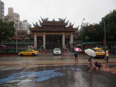 Lungshan Temple, Taipei!