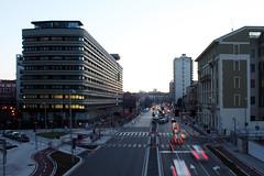 Melchiorre Gioia (m-blacks) Tags: street city urban milan tower architecture traffic milano urbanlandscape portanuova zanuso melchiorregioia parkassociati gioia22