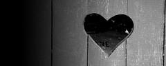 saint-valentin (fred88r) Tags: door white black noir heart coeur porte extérieur blanc