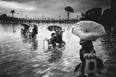 izmir noire (anilaydn) Tags: street rain umbrella turkey fuji popular konak izmir alsancak noie x100 vsco fujifikm x100s fujitr