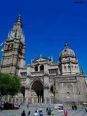 Catedral de Santa Mara de Toledo (Jotha Garcia) Tags: building primavera stone architecture spring cathedral gothic edificio may catedral toledo mayo piedra gotico castillalamancha 2016 huawei jothagarcia