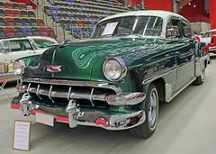 1954 Chevrolet Bel Air (crusaderstgeorge) Tags: cars chevrolet sweden air 1954 sverige bel classiccars americancars sandviken greencars gvleborg americanclassiccars 1954chevroletbelair arenawheels crusaderstgeorge