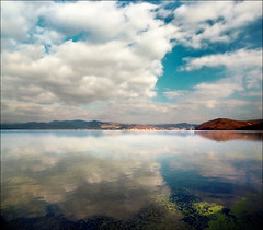 Mirror (Katarina 2353) Tags: summer film river landscape nikon europe donau dunav golubac katarinastefanovic katarina2353