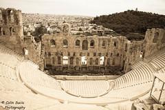 Akropoli (Calin Suciu) Tags: canon eos theatre athens greece grecia gods capitals mithology zei atena 50d akropole 1785mmis mitologie capitala calinsuciu