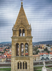 Tower 275hdrbright (Andras, Fulop) Tags: tower pecs hungary catholic cathedral basilica townscape hdrt basilicaminor