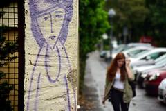 nameless girl (joachim.d.) Tags: street art girl graffiti europe sad maria mainz fantasma nameless mfantasma