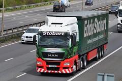 Eddie Stobart 'Cassara Constance' (stavioni) Tags: man truck lorry eddie trailer constance esl stobart tgx cassara h6156 dg65vaj