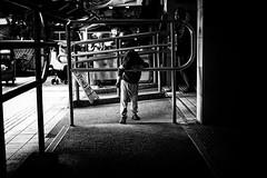 Alone (Kunotoro) Tags: china street city people urban bw streets monochrome children asian photography hongkong blackwhite asia market chinese streetphotography streetlife soe asiapeople stphotographia streetpassionaward blackwhitepassionaward