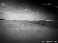 Nuit sauvage (JEAN PAUL TALIMI) Tags: mer france texture nature monochrome automne vent solitude noir noiretblanc dune sable ciel nuages vague fond lumieres silouettes abstrait landes touristes sudouest aquitaine biscarrosse talimi