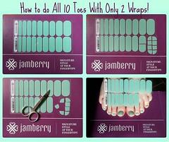 JAMBERRY-How To Pedi (AnewBeautySpecialist) Tags: nails nailart nailenamel nailcare jamberry nailgel nailwraps jamberrywraps jamberrylacquer