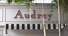 Audrey (Bangkok) (jcbkk1956) Tags: sign thailand restaurant cafe nikon bangkok bistro audrey nikkor hepburn nikkor1870mmf3545 thonglo