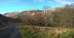West highland Way Inveranan to Crianlarich (JimGer947) Tags: river highlands sheep scottish falls creep westhighlandway crianlarich inveranan falloch