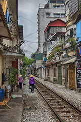 Living online (ORIONSM) Tags: house home living track sony railway vietnam online hanoi hdr infinitexposure rx100mk3