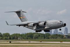 MSP 05-5139 (Skeeter Photo) Tags: aviation military msp cargo c17 globemaster 452 usaf usairforce amw 5139 kmsp marcharb minneapolisstpaulinternationalairport c17a afrc chrislundberg 055139 452nd