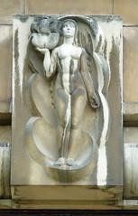 Woman, ship - sculpture over a Trocadero door - Paris (Monceau) Tags: sculpture woman paris ship relief trocadero musedelamarine