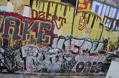 9/8/2014 Free Wall (sixheadedgoblin) Tags: spray rod crown publicart awake olympiawashington freewall dzert staylost