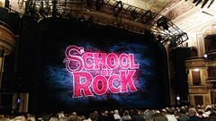 School of Rock (Joe Shlabotnik) Tags: cameraphone nyc newyorkcity sign theater manhattan stage broadway schoolofrock 2016 galaxys5 may2016