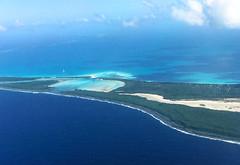 Aerial View of Ouvea Island, New Caledonia (Nana* <salala817>) Tags: newcaledonia ouvea aerial island      ocean sea blue