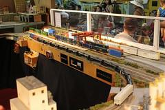 Trains (brickbuilder711) Tags: lego ho scale model train gold coast railroad museum railway miami florida east csx es44ah citx sd70m2 140 national day amtrak event intermodal rock