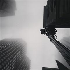 Low Fog Above (Goldpanda94) Tags: city up boston fog skyscrapers citylife