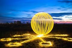 Ommm...orb. (Nikolas Fotos) Tags: longexposure lightpainting orb sphere lichtmalerei lightart longexposurephotography llightpainting lightpaintingphotography peintureclaire