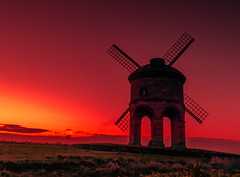 Red Sky Morning (spiderstreaky) Tags: morning light red summer orange cloud abstract cold tower english mill nature windmill silhouette yellow stone breakfast sunrise season walking landscape gold golden climb countryside early spring nikon exposure village wind path top farm wildlife horizon farming sails first cotswolds fresh historic millstone hour fields dxo hillside chesterton warwickshire hilltop goldenhour sunup springtime lightroom cotswold 500px dxooptics d7100