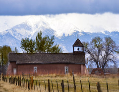 San Acacio (MountainMan5000) Tags: mountains church rural colorado fences mission sanjuans friday