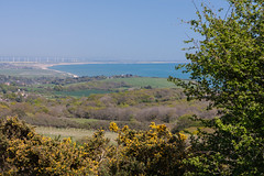 Rye Bay from Hastings Country Park (ghostwheel_in_shadow) Tags: england sussex kent europe unitedkingdom rye dungeness hastings eastsussex ryebay firehills hastingscountrypark englandandwales