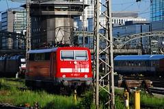 111.052 (Tams Tokai) Tags: eisenbahn zug db bahn vonat vast