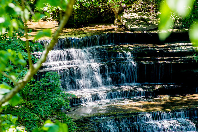 Clifty Falls State Park - Big Clifty Falls - June 6, 2016
