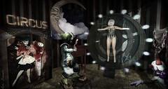 Carnivale (roxi firanelli) Tags: arm circus secondlife carnivale clowns flecha thearcade ireckon glimmermoon {reverie}