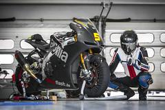 Trofeo Italiano (bjoern.gramm) Tags: aprilia racebike motorrad rsv4 bridgestone xlite nolan akrapovic motorcycle superbike helmet hlins ohlins