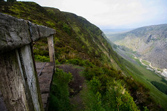 Wrong Side of the fence (Costigano) Tags: ireland irish mountain canon fence eos hills friday wicklow fencefriday