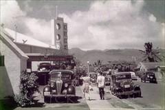 Kuhio Theater Veedol Waikiki 1946 (Kamaaina56) Tags: hawaii theater waikiki slide 1940s